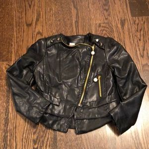 Other - Kids Faux Leather Jacket